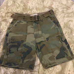 AE camo shorts